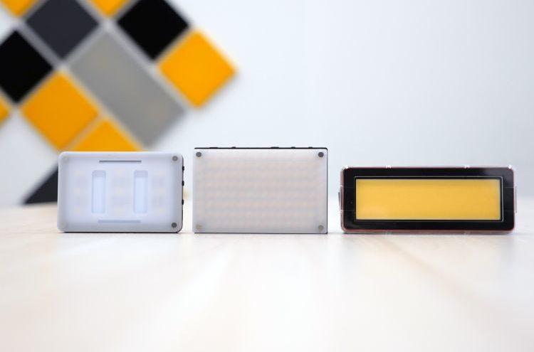 Małe oświetlenie LED od Aputure