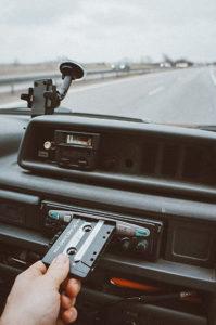 fotografowanie z samochodu kaseta