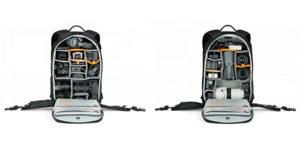 plecak fotograficzny konfiguracje