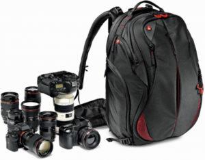 plecak fotograficzny manfrotto zestaw