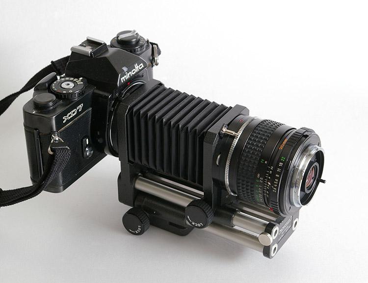 makrofotografia mieszek stare aparaty