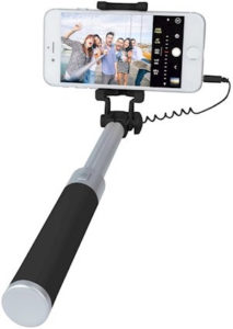 selfie stick kabelek