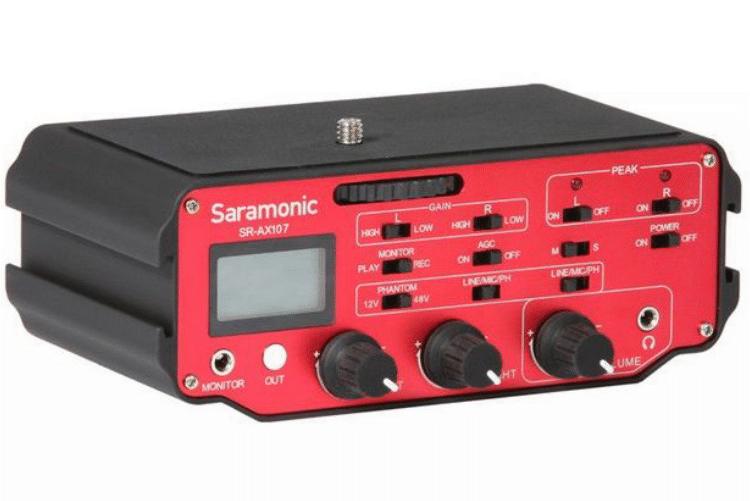 Saramonic Adapter audio XLR SR-AX107