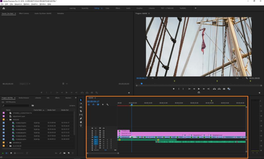 Timeline - Adobe Premiere Pro