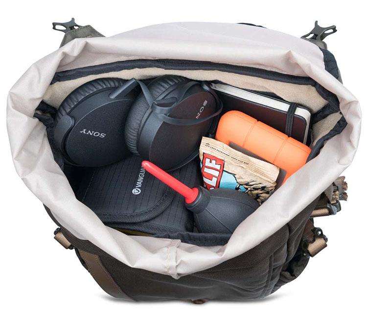 plecaki vanguard rzeczy osobiste