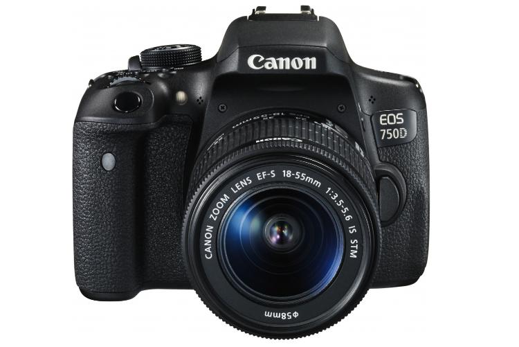 Lustrzanka Canon EOS 750D