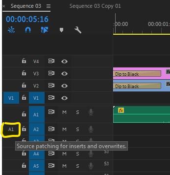 Premiere Pro - Wyłącz import audio na linie czasu