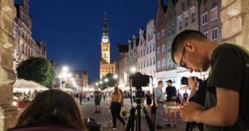 Miasto nocą - fotospacer