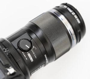 makrofotografia limiter ostrosci olympus