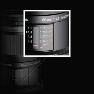 makrofotografia skala