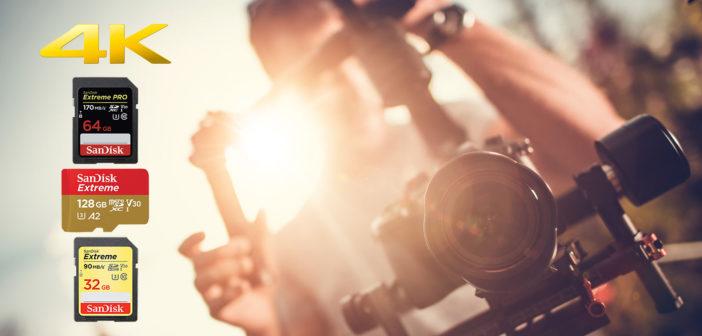 karta pamieci do filmowania 4k