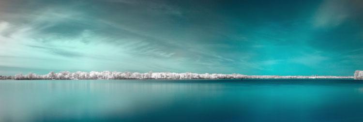 fotografia podczerwona krajobraz 2