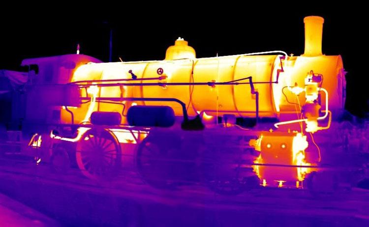 fotografia podczerwona termowizja