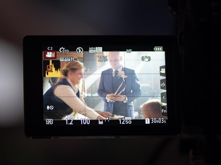 Filmowanie wesela - GH5