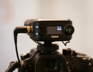Rode Filmmaker Kit - odbiornik