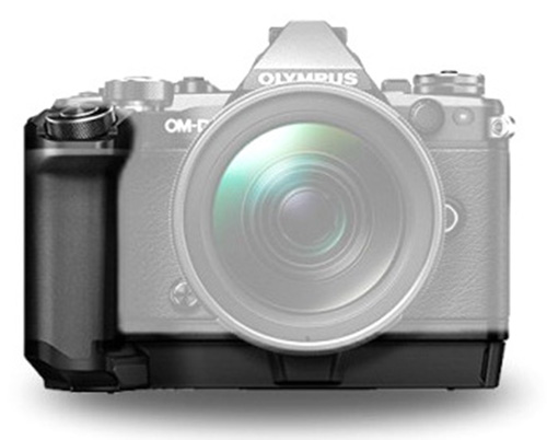 battery grip olympus erognomia
