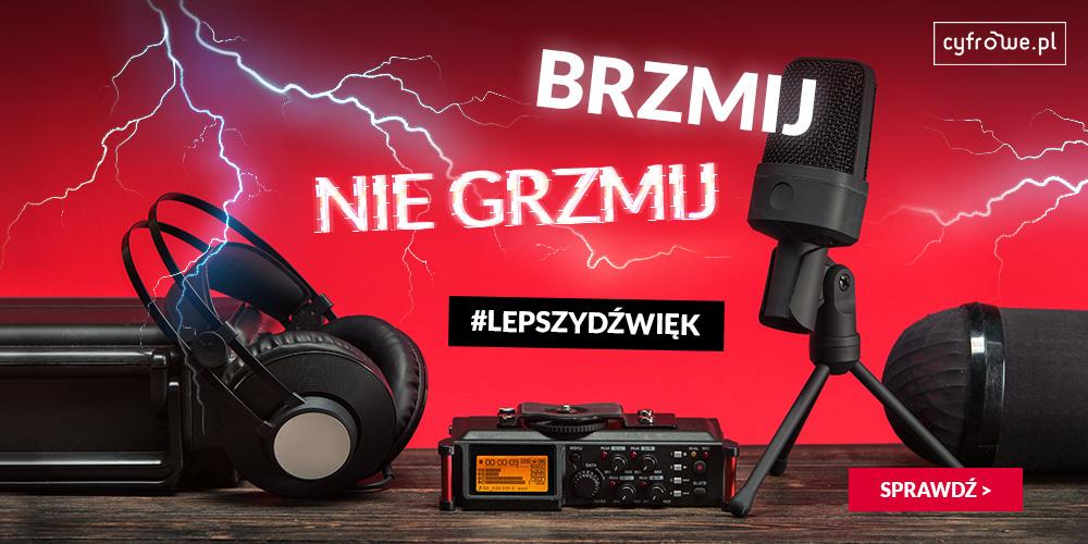 Sprawdź mikrofony w promocyjnych cenach na cyfrowe.pl