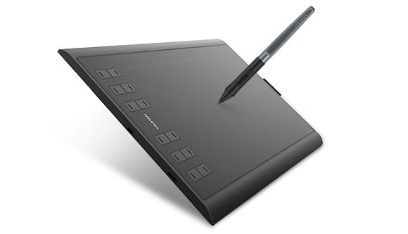 tablet graficzny huion nacisk