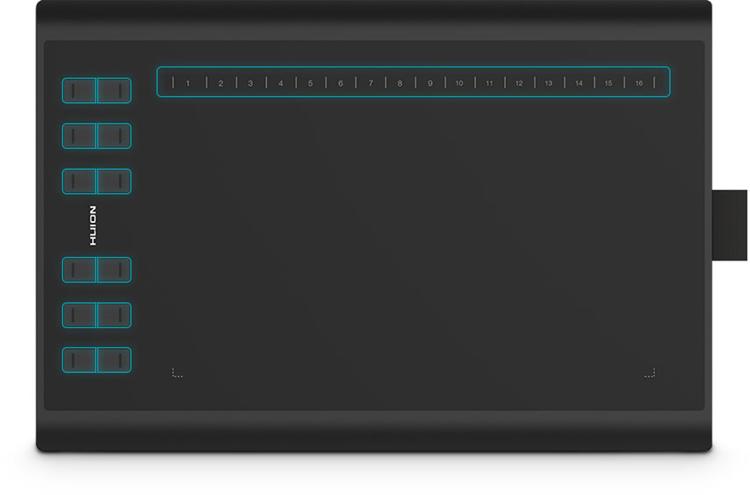 tablet graficzny przyciski