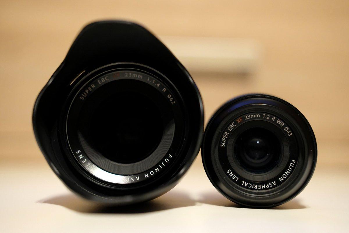 Obiektywy Fujinon - 23 mm f/1.4 oraz 23 mm f/2.0 WR fot. Jarosław Respondek