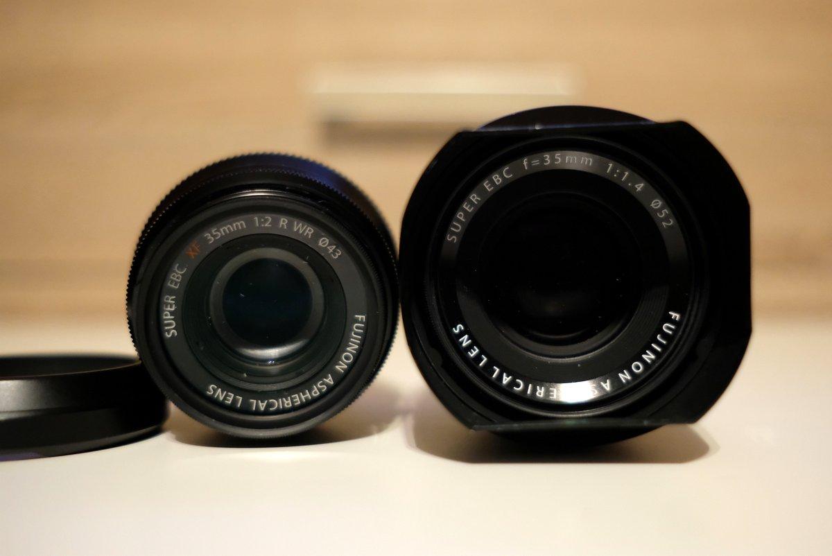 Obiektywy Fujinon 35 mm fot. Jarosław Respondek