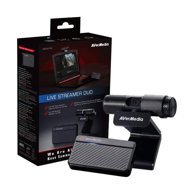 AVerMedia Live Streamer BO311S Zestaw z kamerą