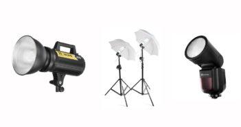 domowe studio fotograficzne jakie lampy