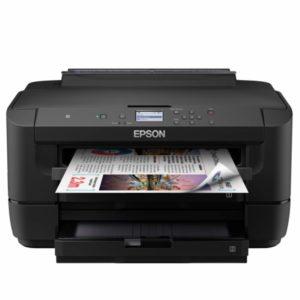 Urządzenia takie jak Epson WF-7210DTW łączą w sobie drukarkę, skaner, kopiarkę i faks.
