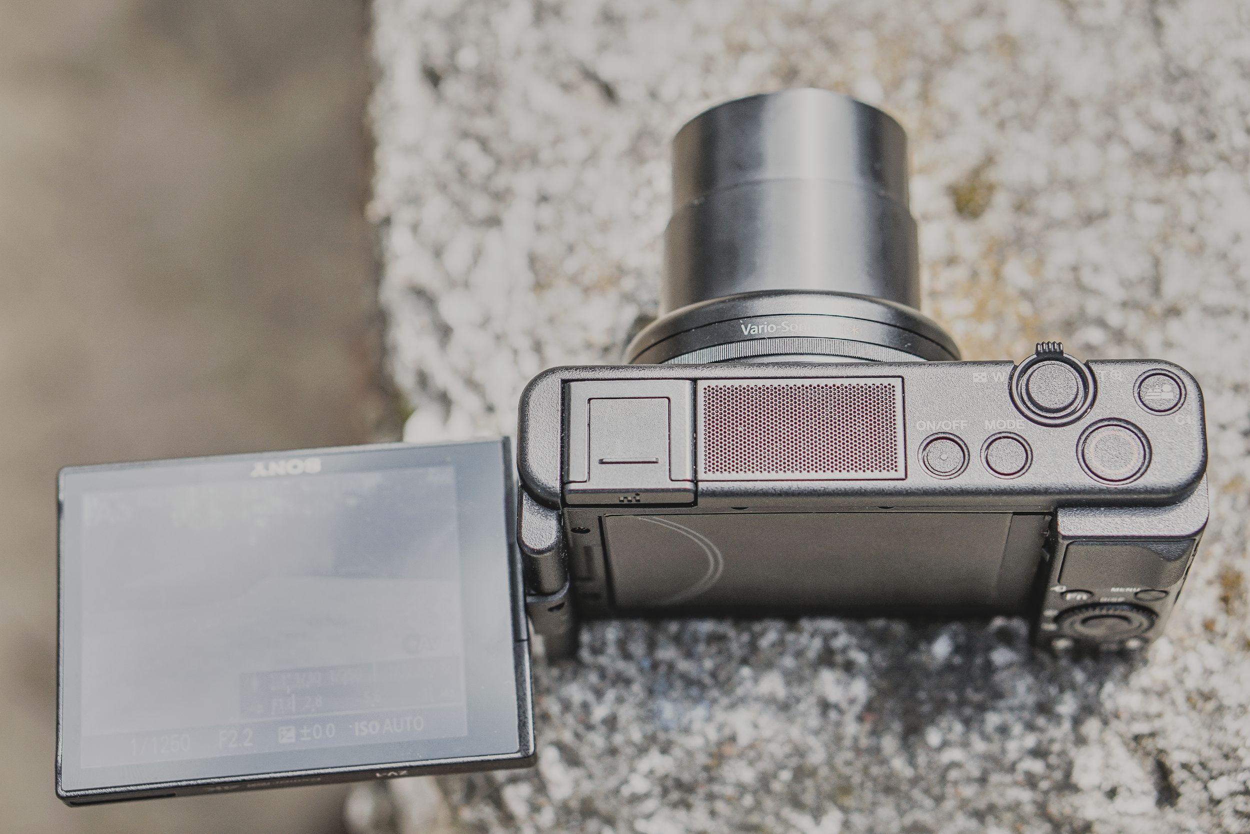 Sony Z-V1 test aparatu