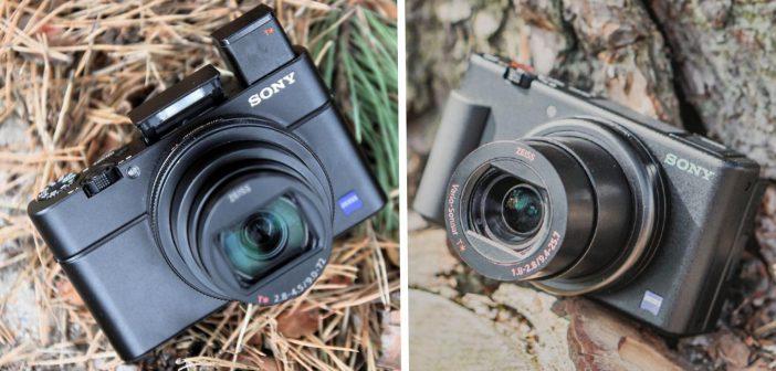 Aparaty Sony RX100 VI i ZV-1
