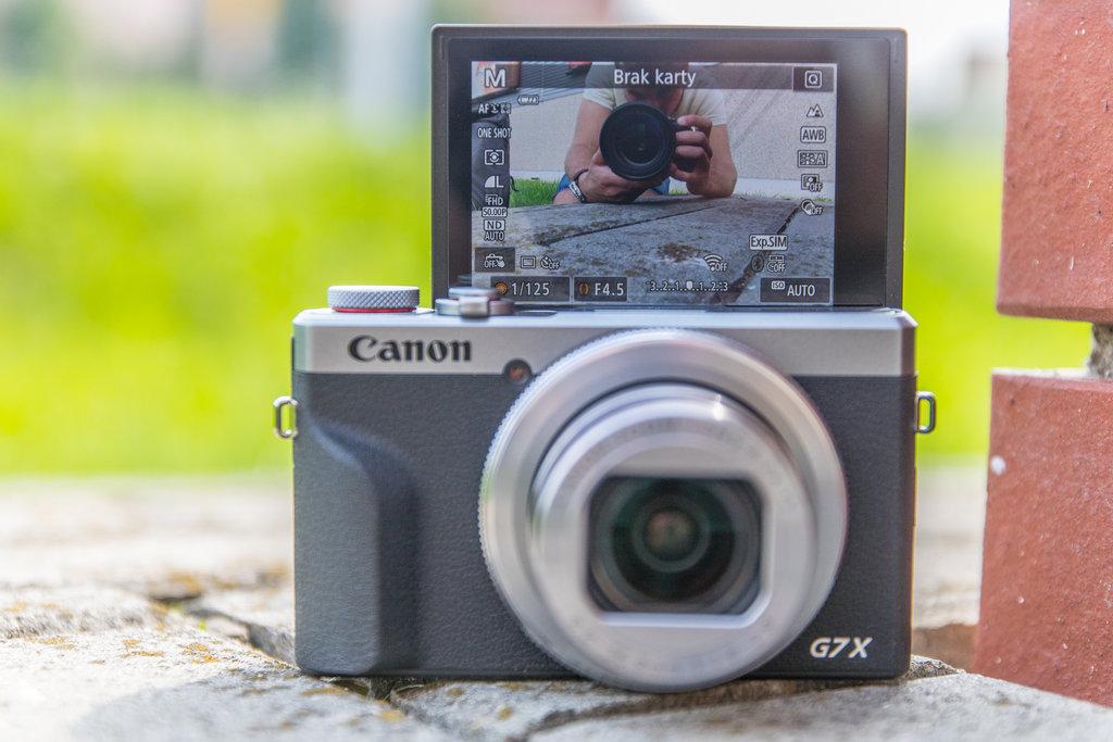 Czy Canon Powershot G7X Mark III nadaje sie do vlogów?