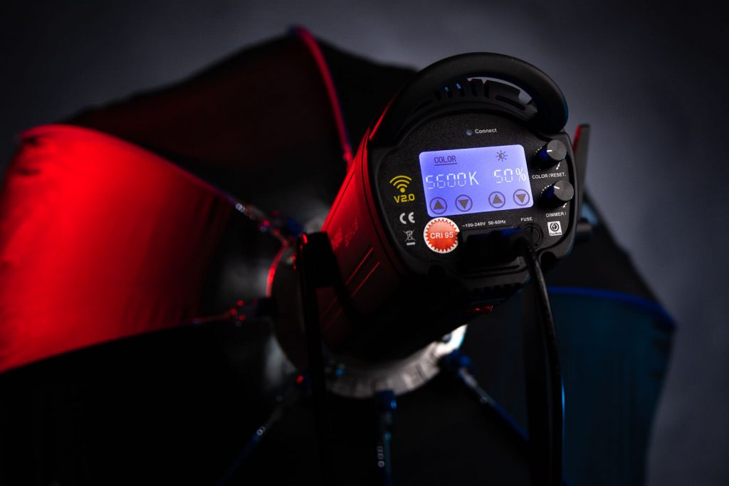 FOMEI LED WIFI lampa światła ciągłego do fotografii studyjnej