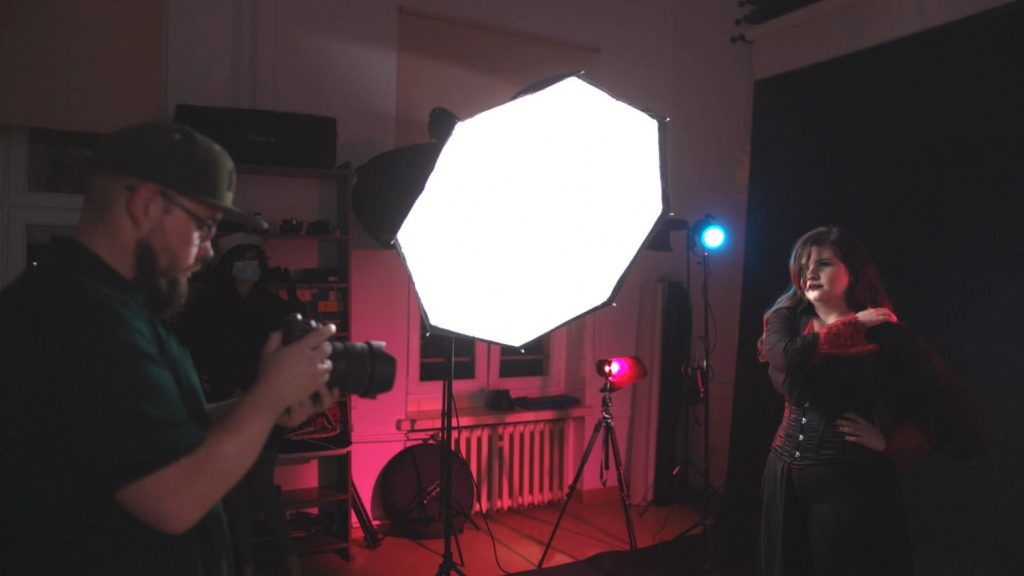 fotografia studyjna lampy