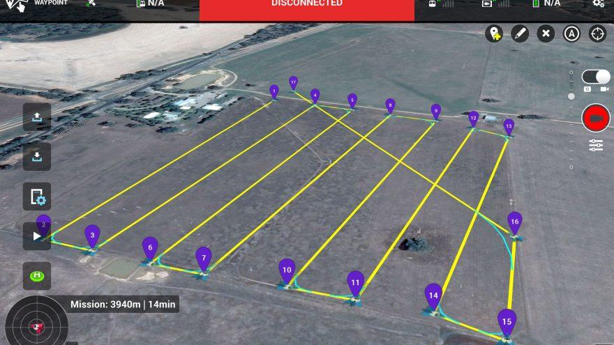 Aplikacja do sterowania dronem