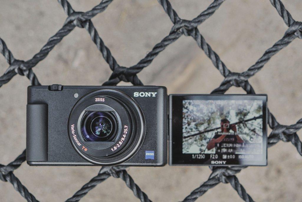 Sony ZV-1 najlepszy aparat dla vlogerów