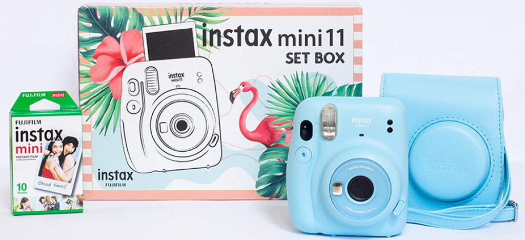 Instax Mini 11 w zestawie z akcesoriami