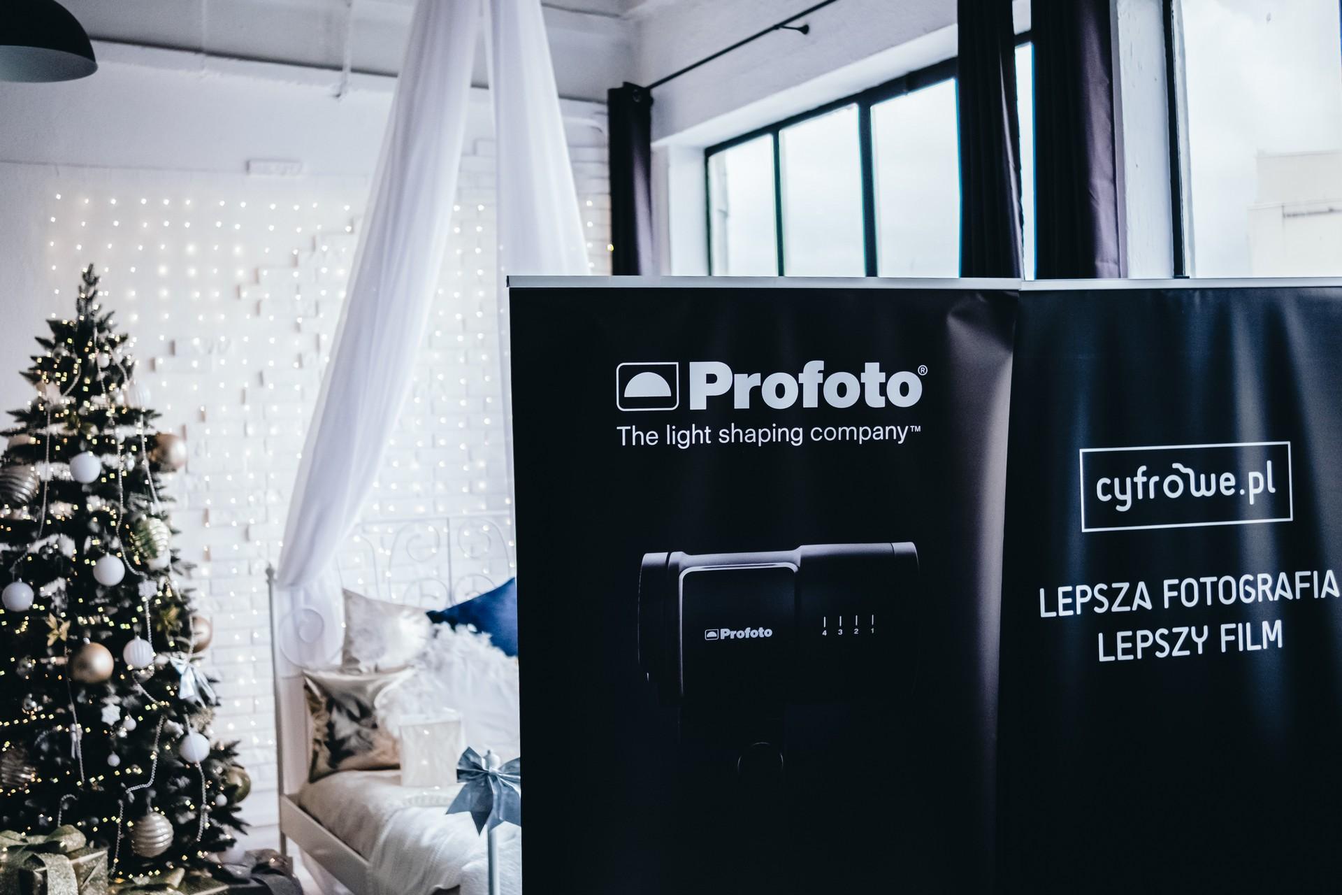 Profoto i Cyfrowe.pl w świątecznym nastroju fot. Jarosław Respondek