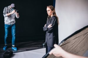 Backstage Malva Models Dominika Suprun fot. Jarosław Respondek
