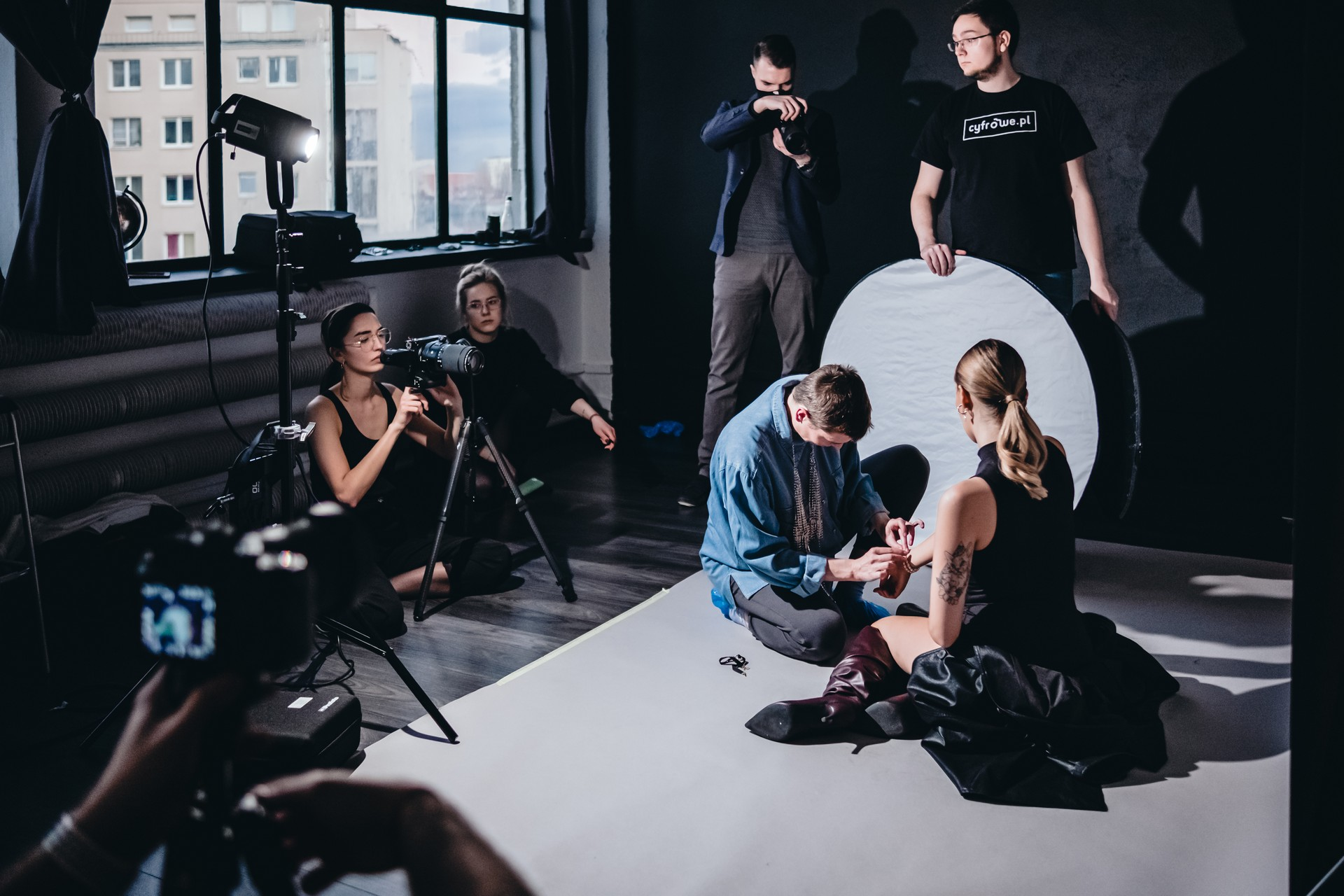 Backstage w Studio Onegog fot. Jarosław Respondek