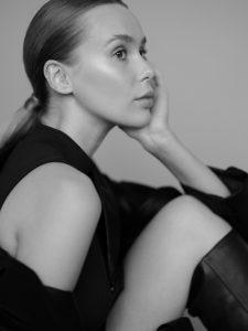 Fashion Malva Models Portret Modelka Dominika Ratajczak fot. Karolina Fafińska