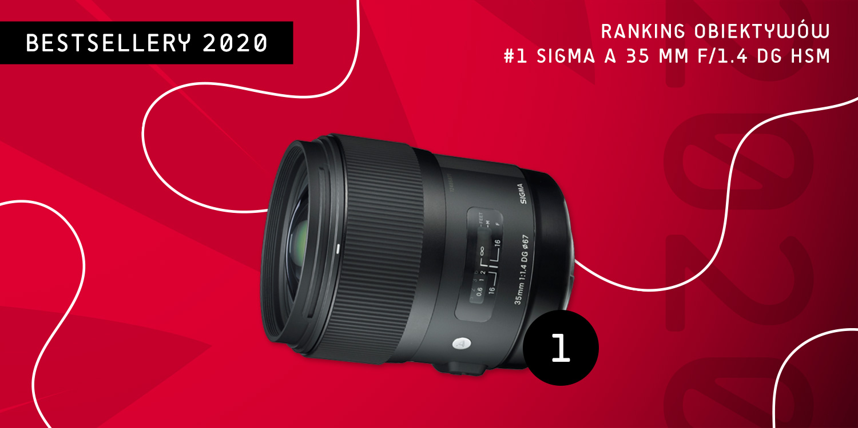 Bestseller 2020 - obiektyw Sigma 35 mm F/1.4