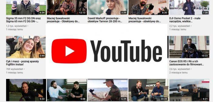 Youtube poradniki foto video