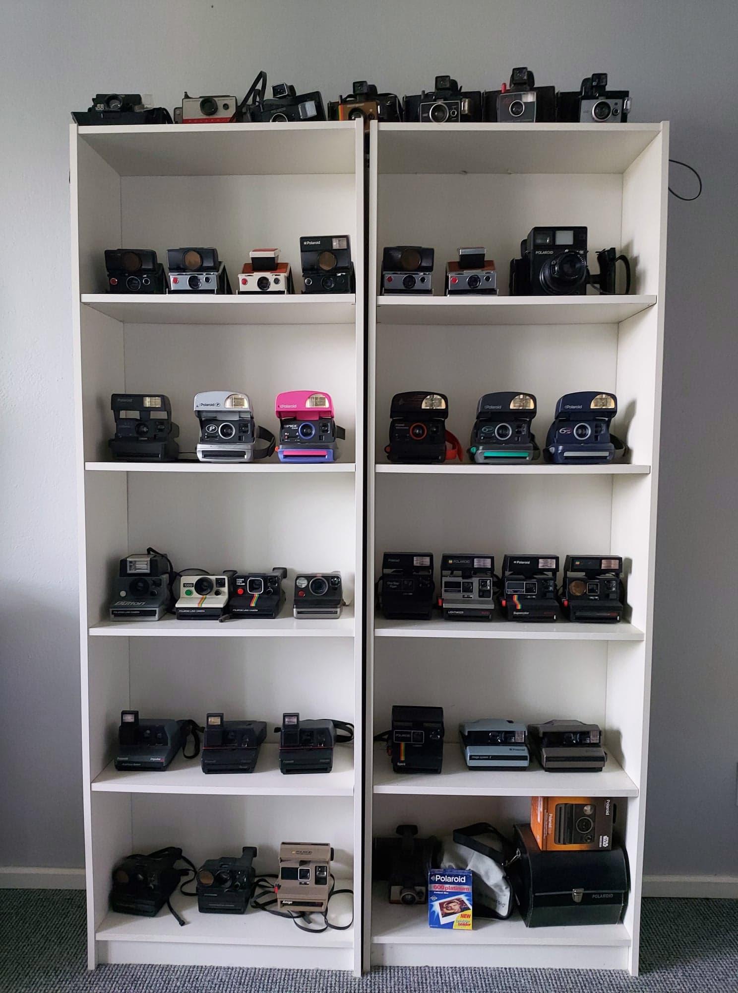 Moja kolekcja aparatów natychmiastowych