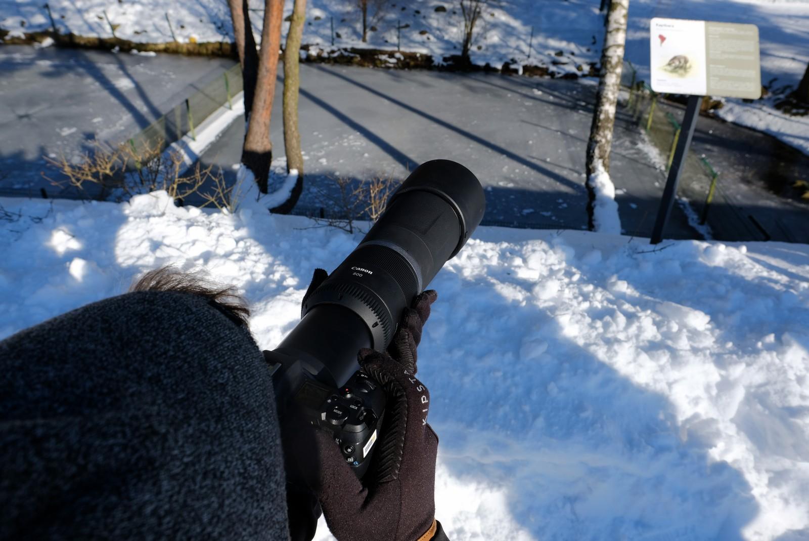 Obiektyw RF 800 f/11 w akcji Fot. Jarosław Respondek