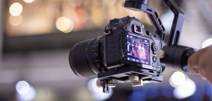 gimbal do filmowania ślubów