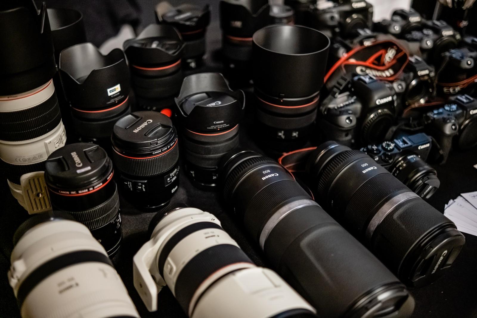 Canon obiektywy aparaty Fot. Jarosław Respondek