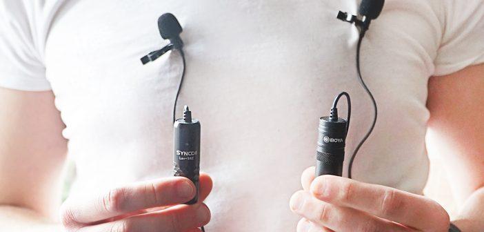 tani mikrofon krawatowy