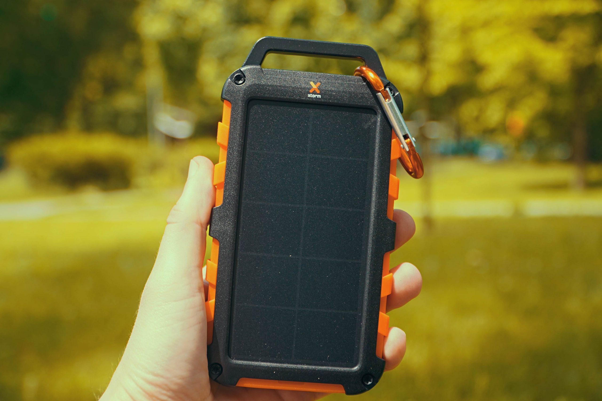 Xtorm Powerbank solarny XXR104 10000 mAh 20W