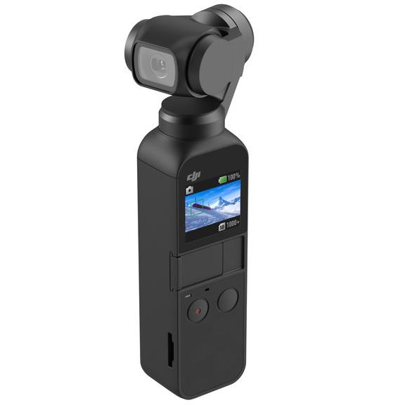 DJI Osmo Pocket kamera, gimbal i uchwyt czyli 3 w 1