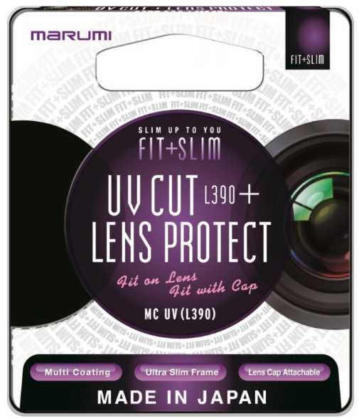 Marumi UV Fit + Slim filtry na obiektyw